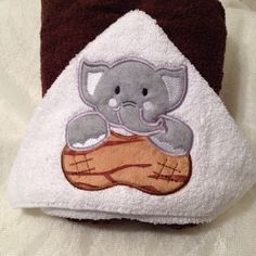 A personal favorite from my Etsy shop https://www.etsy.com/listing/453109412/elephant-or-a-duck-hooded-full-size-bath