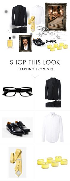 """""""Pierre #2"""" by boondock-saint1999 ❤ liked on Polyvore featuring ZeroUV, Gucci, STELLA McCARTNEY, Pier 1 Imports, Hermès, men's fashion and menswear"""