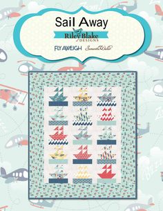 Sail Away Quilt Pattern - Lovequilting.comLoveQuilting.com