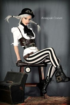 Steampunk fashion... I probably wouldn't wear it but i like it