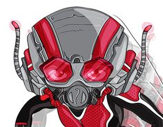"Check out new work on my @Behance portfolio: ""ant-man"" http://be.net/gallery/49131597/ant-man"