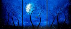 Fantasy Art Fairytale Painting - Together at Twilight by Jaime ...