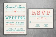 Wedding Invitation, Wedding Announcement, Wedding Invitations, Wedding  Invite, Custom Wedding Invitation, Wedding Invitation Set Kit, Rustic