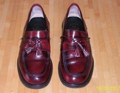 FRANK WRIGHT OXBLOOD LOAFERS