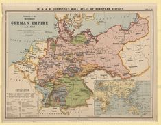 Formation of the modern German empire (1914)