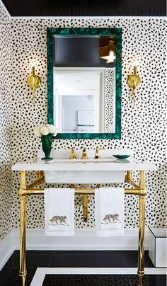 Speelse badkamertegels | Huis-inrichten.com