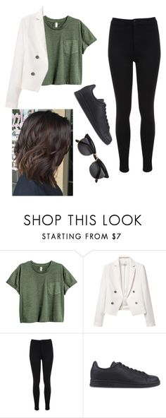 """""""Untitled #87"""" by axivq on Polyvore featuring MANGO, Miss Selfridge, adidas Originals and H&M"""