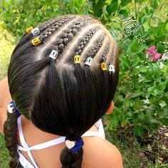 Today's hair style ❤ first day of school 2nd grade ✂️#sweetheartshairdesign #babesinhairlandblog #braidsforlittlegirls #Pr3ttySundayFeature #phifinspireme