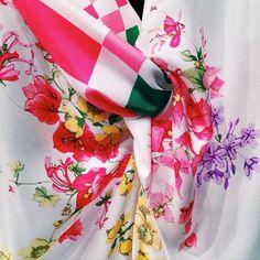 Florals? For Spring? Yes, please. #NinaRicci. #springflorals
