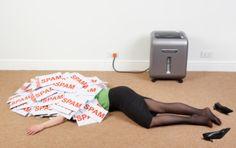 Dead Sexy Nylon Legs Corpse Heels Office Murder