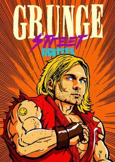 De lujo! Grunge Street Fighter