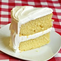 The Best Vanilla Cake - this simple recipe is actually the most popular cake ever on Rock Recipes and one of our most pinned recipes on Pinterest too. It seems vanilla lovers are love their favorite flavor as much as the chocolate fans. Do you love vanilla too?.