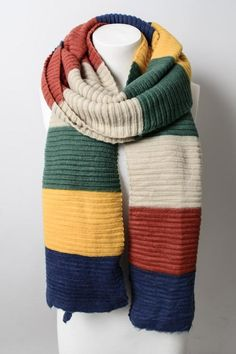 [product_descrip]Chunky, warm, goodness, all in one amazing scarf. Hand Knit Scarf, Wool Scarf, Crochet Capas, Knit Crochet, Hairpin Lace, Hand Knitting, Knitting Patterns, Ponytail Beanie, Knitting Accessories