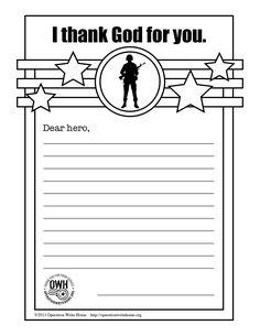 Operation Write Home -ThankGodC