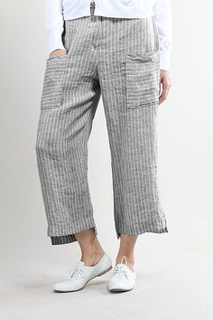 Trousers Gytha wash -100% Linen