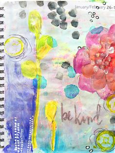 Recycled art journal