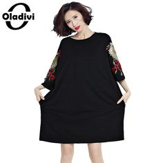 Oladivi Plus Size Women Clothing Embroidered Dress Fashion Ladies Tops Tees Tunics Female Casual Shirt Dress Vestidos Black 6XL     Tag a friend who would love this!     FREE Shipping Worldwide     Buy one here---> http://ebonyemporium.com/products/oladivi-plus-size-women-clothing-embroidered-dress-fashion-ladies-tops-tees-tunics-female-casual-shirt-dress-vestidos-black-6xl/    #urban_style