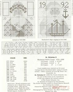 St Nicholas II • 3/4 Two Charts and Alphabet
