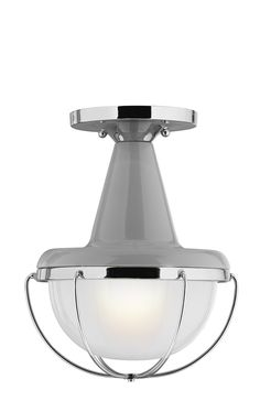 One Light Outdoor Flushmount