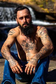 Waterfall Grunge Male Model Photoshoot   https://www.facebook.com/AlexTPhotography00/