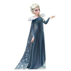 Elsa >> I HAVE to say this again. I LOVE HER DRESS!!! XD