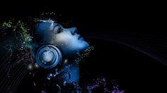 Headphones and Girl Art Wallpaper Free Headphones and Girl Art ...