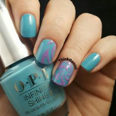 Would you try OPI Can't Find My Czechbook Electric by Christine M? Vote on Preen.Me!