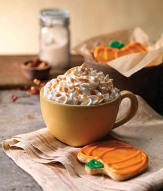It's finally Pumpkin Spice Latte season! It's back at Panera Bread-- Espresso, steamed milk & pumpkin spice syrup topped with whipped cream & a drizzle of caramel sauce.