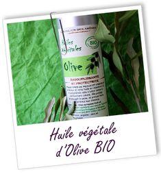 Huile végétale vierge extra d'Olive BIO