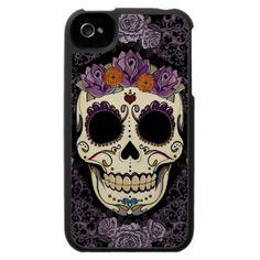 Dia De Los Muertos ~ iPhone cover. WANT!