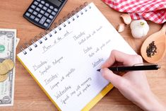 Do you work hard at meal planning only to forget about it days later? These tips on how to not only create a weekly menu but ensure you actually use it! Dinner Menu, Dinner Recipes, Budget Meal Prep, Apt Ideas, Easy Meals, Simple Meals, Weekly Menu, Meals For Two, Menu Planning
