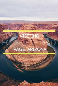 Horseshoe Bend is someplace you have to see to believe! This geological wonder is located just 5 miles away from the Grand Canyon and it is totally worth the side trip!
