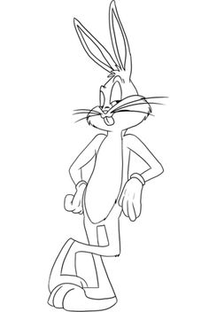 Free Printable Bugs Bunny Coloring