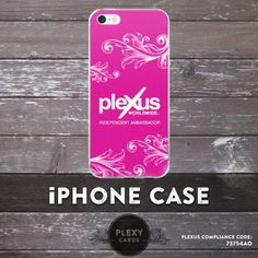 Get a Fancy Pink Plexus iPhone Case to match your business cards 😄 iPhone cases for $20.95 (andFREE SHIPPING)