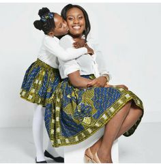 Choose from the best and beautiful matching African ankara styles for mother and daughter. These ankara styles are meant for stunning mother and daughter Ankara Styles For Kids, African Dresses For Kids, African Babies, African Children, African Print Dresses, African Women, African Clothes, African Prints, African Inspired Fashion