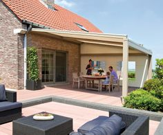 1000 images about terras on pinterest tuin het weer and met - Terras zeil ...
