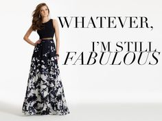 I'm fabulous quote