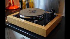 Thorens TD160 - natural wood