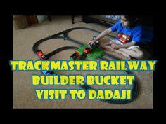 Trackmaster Railway Builder Bucket Visits Dadaji