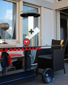 Konfigurierbare Tische,Sitzbänke, Stühle inspiriert durch die Industriegeschichte. Stationary, Grilling, Tables, Grill Party