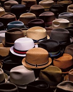 Organized Collection of Fedora Style Hats Sharp Dressed Man, Well Dressed Men, Gentleman, Wearing A Hat, Headgear, Stylish Men, Stylish Hats, Hipsters, Hats For Men