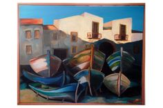 Barche in secca - Flora Casati