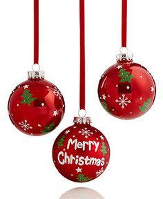 Macy's Christmas Tree Ornaments at Holiday Lane - Macy's