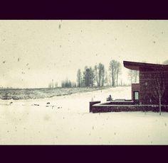 Snowbound in Wyoming