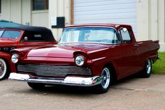 1957 Ford Ranchero. Maintenance/restoration of old/vintage vehicles: the material for new cogs/casters/gears/pads could be cast polyamide which I (Cast polyamide) can produce. My contact: tatjana.alic@windowslive.com