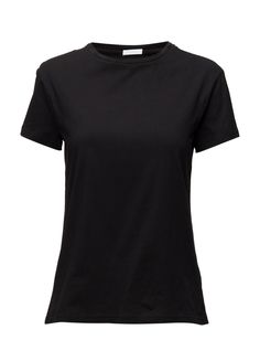 DAY - Tyra Crew neckline Relaxed fit T-Shirt Black Neckline, Day, T Shirt, Shopping, Black, Tops, Women, Fashion, Supreme T Shirt