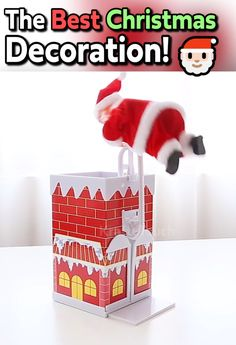 Ho Ho Ho Get this decoration 50 OFF Today Ho Ho Ho Get this decoration 50 OFF Today Krafty Touch kraftytouch KraftyTouch The Christmas spirit is alive and well nbsp hellip Christmas Crafts, Christmas Decorations, Holiday Decor, Xmas, Christmas Tree, Diy Crafts Videos, Fun Crafts, Chimney Decor, New Year Celebration