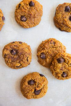 These Chocolate Chip Pumpkin Cookies are the perfect Fall treat!  Fall is coming! Or at least that's how the weather feels today here in Boston. I am lucky to have the best of both worlds; I have the joys of living in the city and the benefit of working far out in the suburbs near …