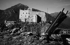 Roccabarbena - Ruderi sotto il castello