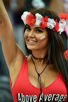 #EURO2016 An above average  Poland supporter gestures prior to the Euro 2016 quarterfinal football match between Poland and Portugal at the Stade Velodrome in Marseille on...